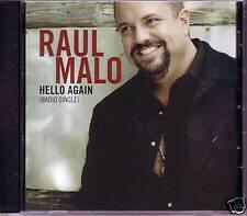 Mavericks RAUL MALO Hello Again PROMO DJ CD Single 2009