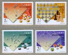 Macau Macao 2000 East vs West Chess Culture Stamps
