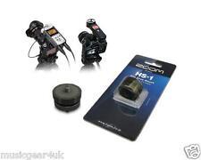 Zoom HS-1 Hot Shoe Adapter for H1 H2n H4n H5 H6 Q2HD Q3HD Q4 Q8 DSLR
