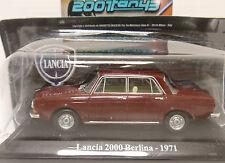 LANCIA 2000 BERLINA 1971 1/43 HACHETTE