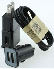 USB Wall Charger + Micro USB Cable + Car Charger Adapter For Samsung n more