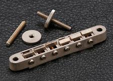Gotoh Tune-O-Matic Guitar Bridge • Modern ABR-1 • Nickel • Aged / Relic