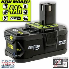 NEW! Ryobi ONE+ 4.0Ah High Capacity 18v Lithium Battery Pack P197 -Replaces P108