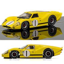 SCALEXTRIC Slot Car C3859 Ford GT40 Mk4, 1967 Sebring Winner