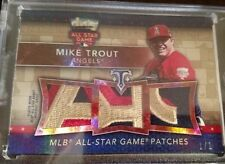 15/16 Topps Triple Threads Mike Trout Triple All Star Game Worn Patch #1/1 Sick