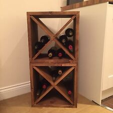 Rustic Wine Rack / Storage Cube (Made To Any Size)