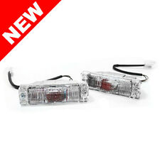 81-89 VW GOLF JETTA MK1 MK2 SMALL BUMPER TURN SIGNAL LIGHTS - OE CLEAR