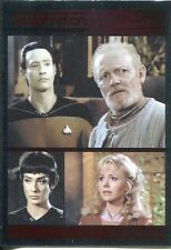 Star Trek TNG The Complete Series 1 Parallel Foil Base Card #31