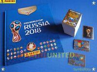 Panini★WM 2018 WC 18 World Cup★complete set/Komplett-Satz + HARDCOVER Leeralbum
