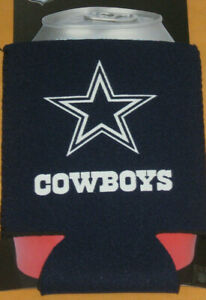 KOLDER COLLAPSIBLE CAN BOTTLE  COOLIE KOOZIE DALLAS COWBOYS NEW NIP