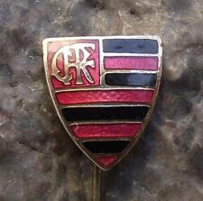 Antique Clube de Regatas do Flamengo Brazil Football Soccer Team Club Pin Badge