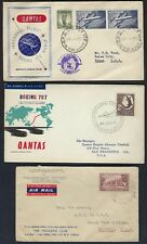 Australia 1940s To 1950s Collection Of 14 First Flight & Fdcs