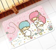 "Cute Little Twin Stars Doormat Bathroom Kitchen Mat Rug Pad Carpet 18"" x 23"""