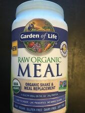 Garden Of Life Raw Meal Vanilla 34.2oz (949g)   NOT Recalled vegan Gluten FREE