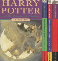 Harry Potter Boxed set. The Philosopher's Stone, The Chamber of Secrets, The Pri