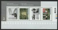 Canada Scott #2757 - 2014 Photography Souvenir sheet of 4, VF-NH