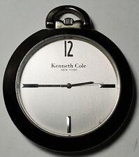 KENNETH COLE NY Open Face Quartz Pocket Watch-Free USA Ship
