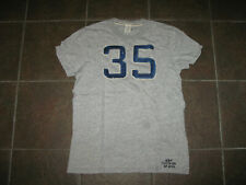 ABERCROMBIE and FITCH Buck Point Grey M Men's Muscle Tee T-Shirt !!!!