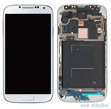 White LCD Display Touch Screen Digitizer Frame For Samsung Galaxy S4 GT i9515