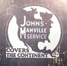 Johns-Manville Packings Insulation Catalog ASBESTOS '24