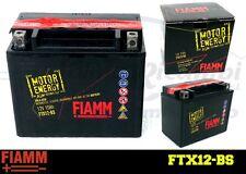 FTX12-BS BATTERIA MOTO FIAMM MOTOR ENERGY YUASA YTX12-BS 10Ah 150A  + LIQUIDO