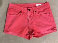 Sass and Bide Shorts Red Denim Size XS