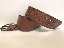 EXPRESS - Women's Casual Fashion Belt - Brown Leather - Size M