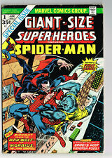 GIANT-SIZE SUPER-HEROES FEATURING SPIDER-MAN #1 MARVEL COMICS 1974 MORBIUS VG/FN