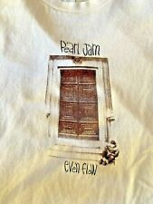 Pearl Jam Ten Even Flow Eddie Vedder Promo Vintage Concert Men's T-shirt SZ L