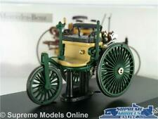 MERCEDES BENZ PATENT MOTOR MODEL CAR 1886 GREEN 1:43 SCALE IXO COLLECTION K8
