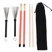 1 Paar 5A Drumsticks Holz Drumsticks Set 1 Paar Drum Brushes Drum Stick B  ZFKO