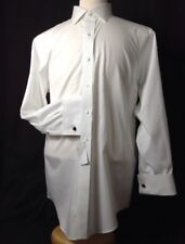 Brooks-Brothers Men's Classic Fit Shirt Non-Iron White 16.5-35 Frenc/Cuff  P/CLR
