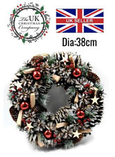 38cm Christmas Wreaths with 20 led lights