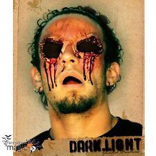Blinded Eye Sockets Latex Application Gruesome Halloween Horror Wound Prosthetic