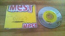 CD Punk Mest - What's The Dillio (1 Song) Promo MAVERICK sc