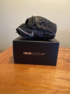 Nike BSBL Hyperfuse Elite Pro MVP 12.0 RHT Black Baseball Glove PBF308 010