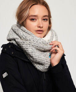 Superdry Womens Clarrie Stitch Snood Size 1Size