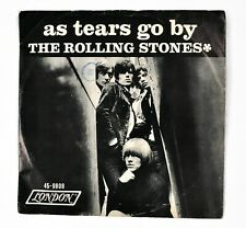 """New listing The Rolling Stones ~ As Tears Go By / Gotta Get Away 1965 7"""" 45 rpm Vinyl Record"""