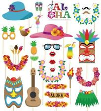 60pcs Luau Photo Booth Props Hawaiian Summer Pool Party Decorations Supplies