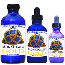 4 oz MONATOMIC GOLD ORMUS MANNA *POTENT & Condensed ORMUS Supplement w/ dropper
