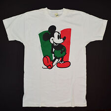 Vintage Mexican Mickey Mouse Shirt '80s Screen Stars Mickey Bootleg Tshirt S/M