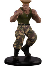 Street Fighter Guile Quarter Scale Mixed Media statue Pop Culture Shock Sideshow