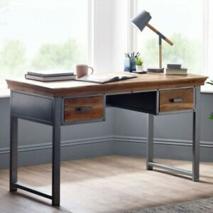 Industrial 2 Drawer Writing Desk Office furniture