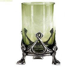ALCHEMY Noveau GREEN FAIRY La Fee Verte Hand-blown Green ABSINTHE SHOT GLASS