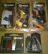 KIT NGM AURICOLARE BLUETOOTH+CAVO USB+CARICABATTERIA AUTO+SUPPORTO WEBCAM+CUSTOD