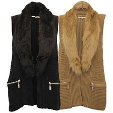 Button Fur Coats & Jackets Winter for Women