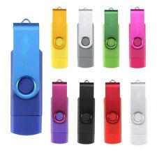 USB Speicherstick 16GB USB 2.0 Flash Drive Memorystick OTG fuer Handy PC Y6