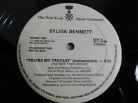 "Sylvia Bennett – You're My Fantasy 12"" Single PROMO 1985 Funk,Soul"