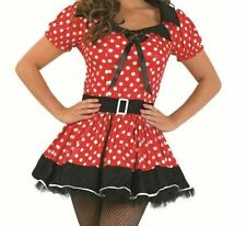 Red Missy Minnie Mouse Fancy Dress  Costume  SMALL