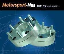 2 Wheel Adapters 8x6.5 To 6 Lug 5.5 Spacers   For Chevy 6 Lug Rim on 8x6.5 Hub